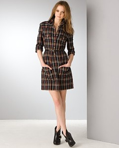 Plaid Dress FCUK