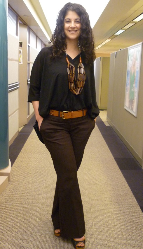 Todayu2019s Outfit Black and Brown | CallaStyle